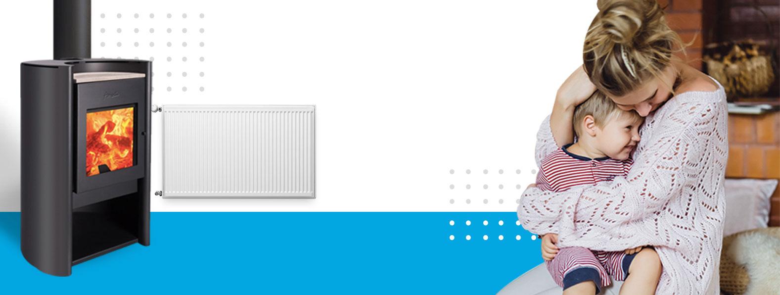 Calefacción central por radiadores - Amesti.cl