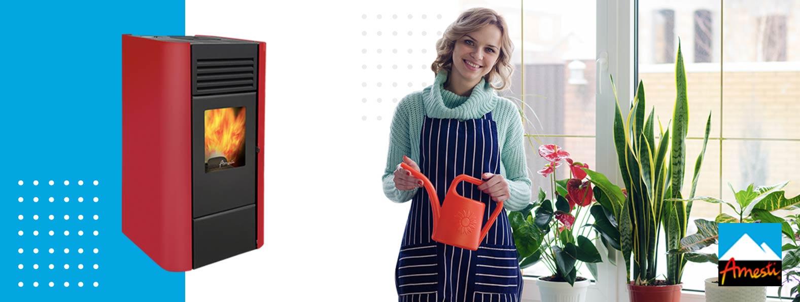 Utiliza las cenizas de pellet como abono - Amesti.cl